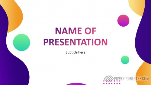 Шаблон PowerPoint №954
