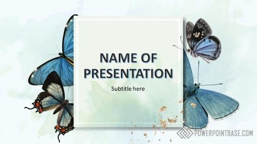 Шаблон PowerPoint №956