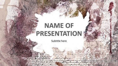 Шаблон PowerPoint №960