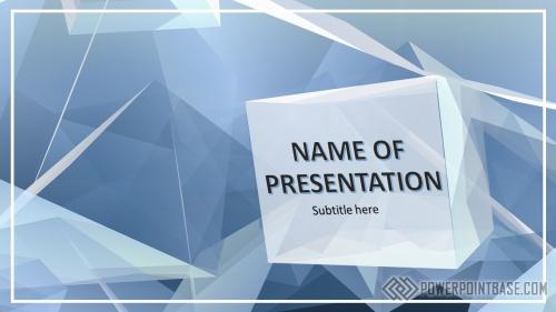 Шаблон PowerPoint №963