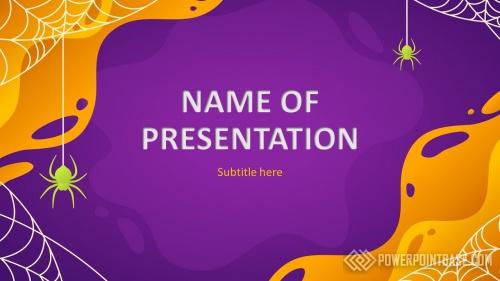 Шаблон PowerPoint №966