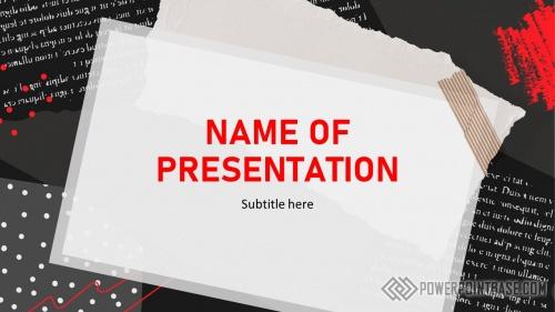 Шаблон PowerPoint №967