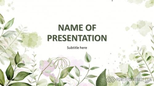 Шаблон PowerPoint №970